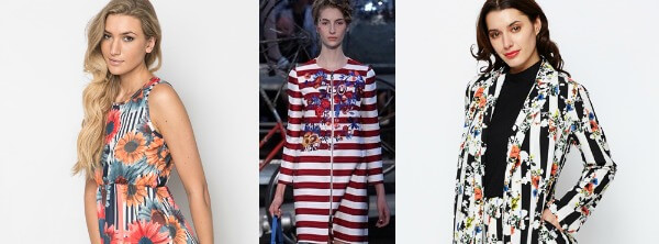 How to wear Spring 2015's Stripes-Floral Trend