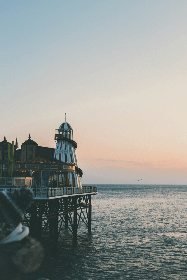 UK seaside pier staycation inspiration and ideas