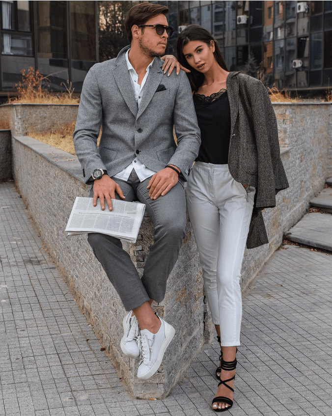 Valentine's Day outfits for every type of date stylish couple